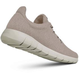 Giesswein Merino Wool Chaussures de running Homme, beige